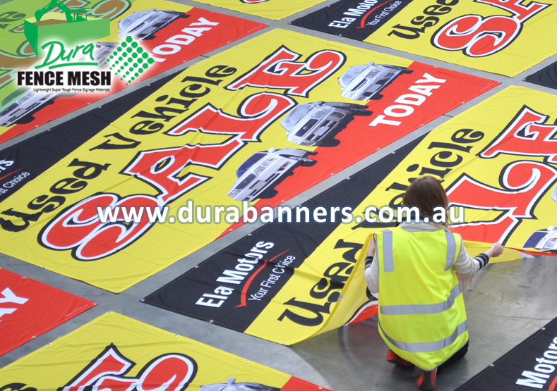 We Supply Fence Wrap Signs To Car Dealers In Australia For